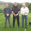 MIKE JAMES, GARY CAUNT & PRESIDENT MALCOLM BODFISH
