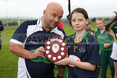 St. Nicholas U12 Ladies Football Final 2016