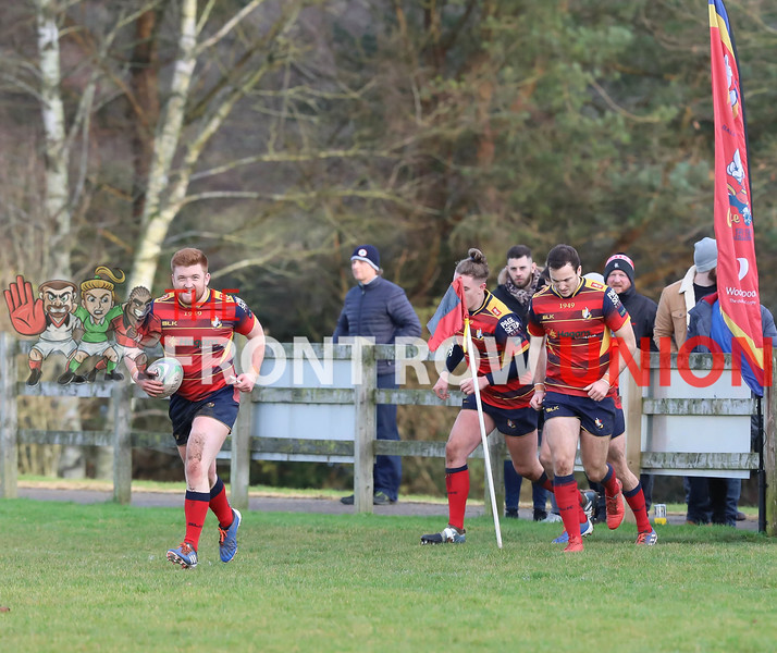 Ballyclare 3 Enniskillen 23, Junior Cup, Saturday 30th November 2019