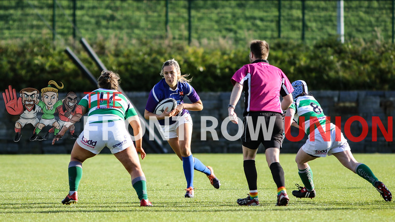 Queen's University 67 Omagh Academicals 0, Deloitte Premiership, Saturday 26th October 2019