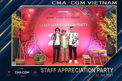 CMA - CGM VIETNAM | Year End Party 2020 instant print photo booth @ New World Hotel Saigon | Chụp hình in ảnh lấy liền Tất niên 2020 tại TP Hồ Chí Minh | WefieBox Photobooth Vietnam