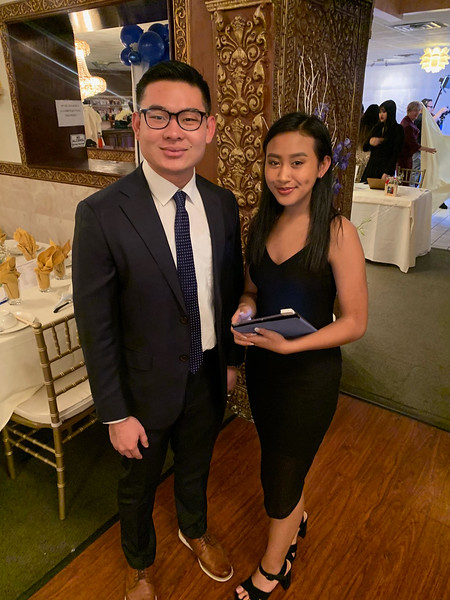 Keanhuy Sour and Elizabeth Phan of Lowell