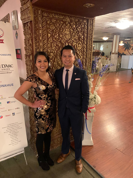 CMAA Chair and President Vichtcha Kong and Executive Director Sovanna Pouv, both of Lowell