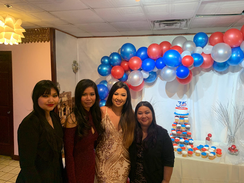 From left, Nichm Im of Dracut, and Leakhena Vong, Marlena Chai and Hannah Phan, all of Lowell