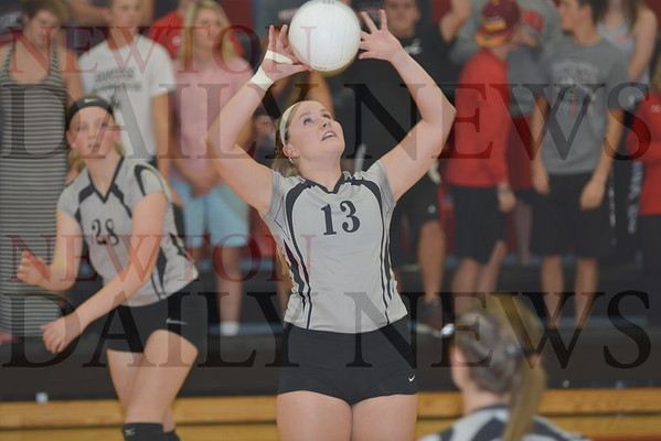 CMB Volleyball vs. Roland-Story 10-19-16