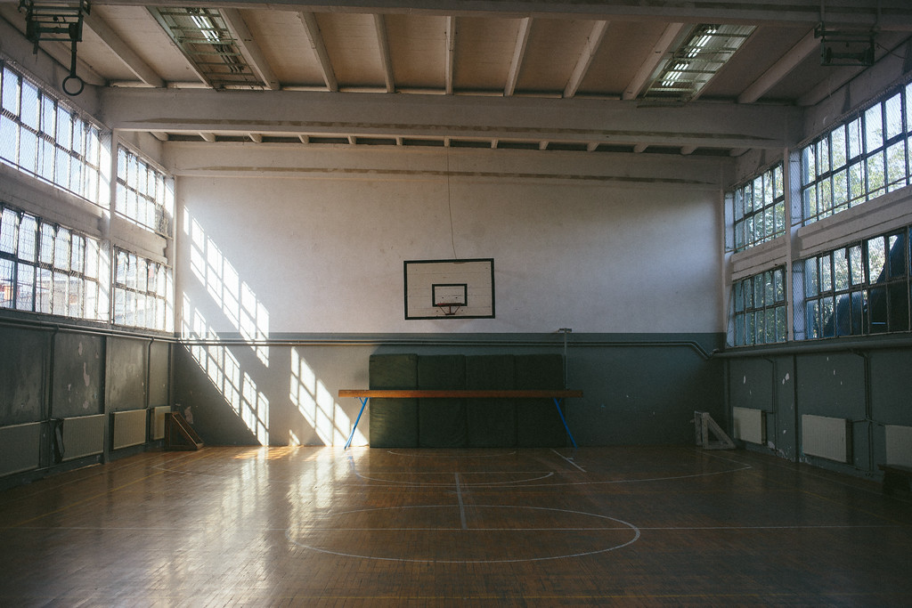 Accommodation place in Zitkovac, another gym.