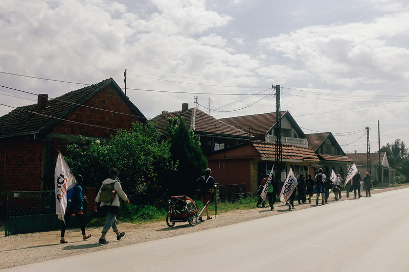 CMFA leaving Brejanovce.