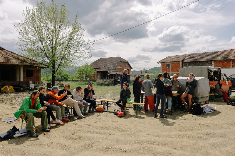 Launch break, Serbia.