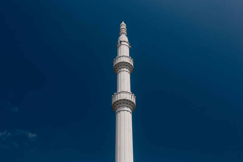 Mosque tower.