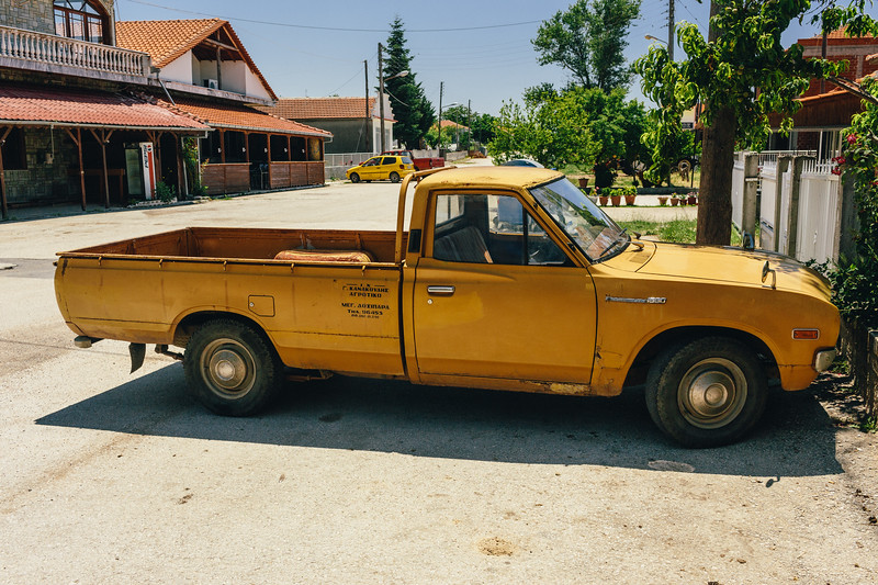 This region of Greece is full of classic pickups...