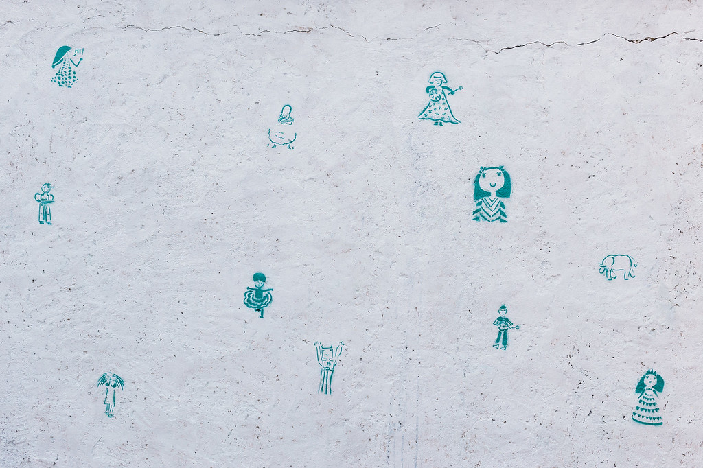 """Beautiful grafitti prepared by Wiktoria and children from Pikpa camp. Check for more at <a href=""""https://www.facebook.com/imponderabilia.ponderabilia"""">https://www.facebook.com/imponderabilia.ponderabilia</a>"""
