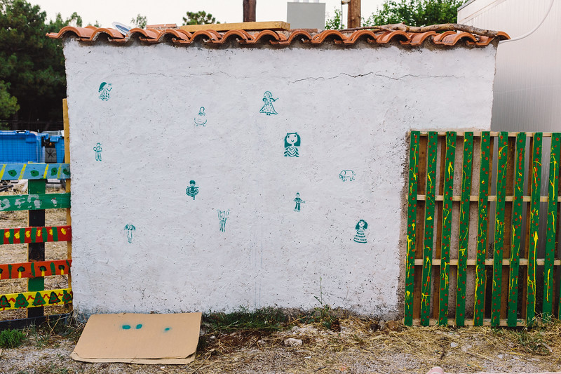"Ggrafitti placed on the kindergarten building. <a href=""https://www.facebook.com/imponderabilia.ponderabilia"">https://www.facebook.com/imponderabilia.ponderabilia</a>"