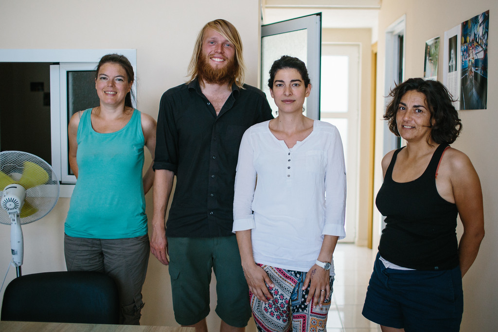 CMFA - visited the MSF office (Médecins Sans Frontières) on the isand of Samos. Their main activities was to offer medical assistance to people landing on Samos, transfer to the registration office and conduct medical consultations. They team also distributed relief<br /> items and meals a day to those living in the reception centre.