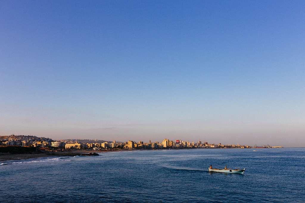Beautiful Lebanese sea landscape may be misleading - the toxic leachate is damaging to the life in the sea. Trash sea dumping kills the fish in the area, and tip the life balance and the biodiversity of the sea.