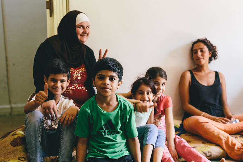 Syrian family, that hosted CMFA in Sabra/Shatila.