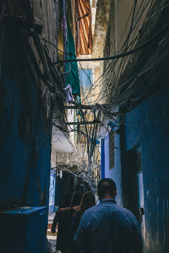 Shatila perfectly organises itself; a city within a city, this place worked itself a special way of functioning. Hardly ever you can meet Lebaneese or tourists.
