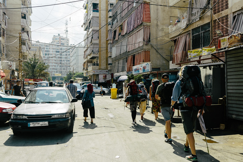 CMFA group leaves Shatila with all the staff to relocate back to Zico House.