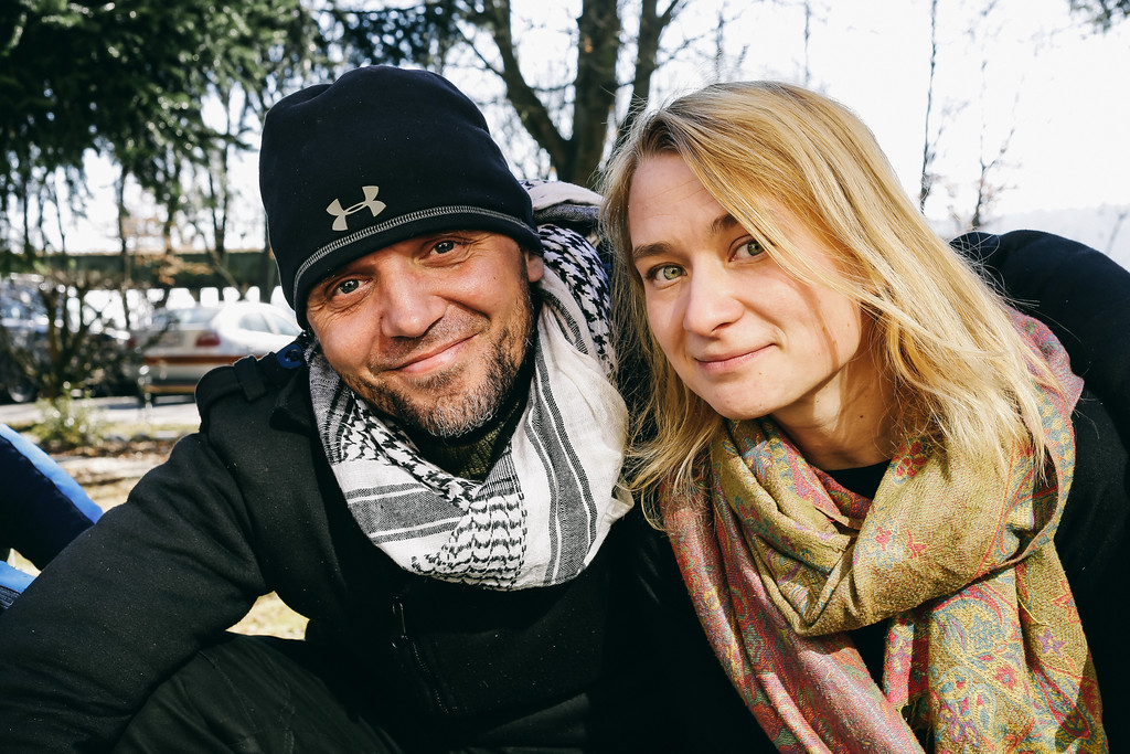 Krystian and Anna (both Poland).