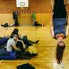 Clara (Austria) in accommodation spot - a comfortable gym.