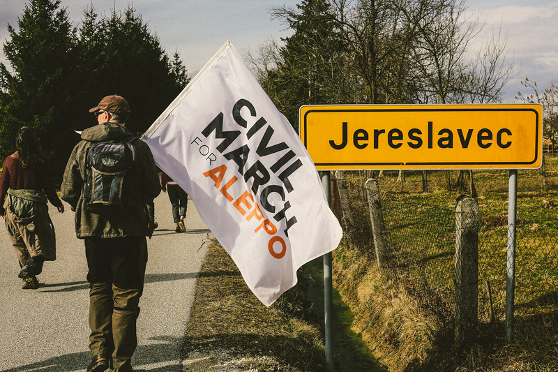 Entering Jereslavec.