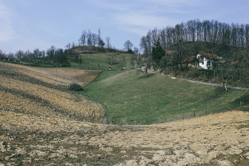 A beautiful valley on the way to Kozarac.