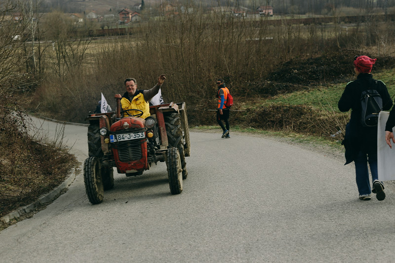 Many people greeted us on the way; Piskavica, Bosnia and Herzegovina.