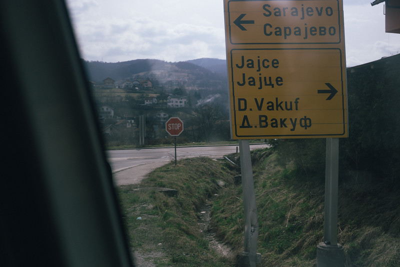 It was good to see that Sarajevo is close. We were all waiting for the moment to enter the city. Antoine and Jan were already there, preparing the CMFA event.