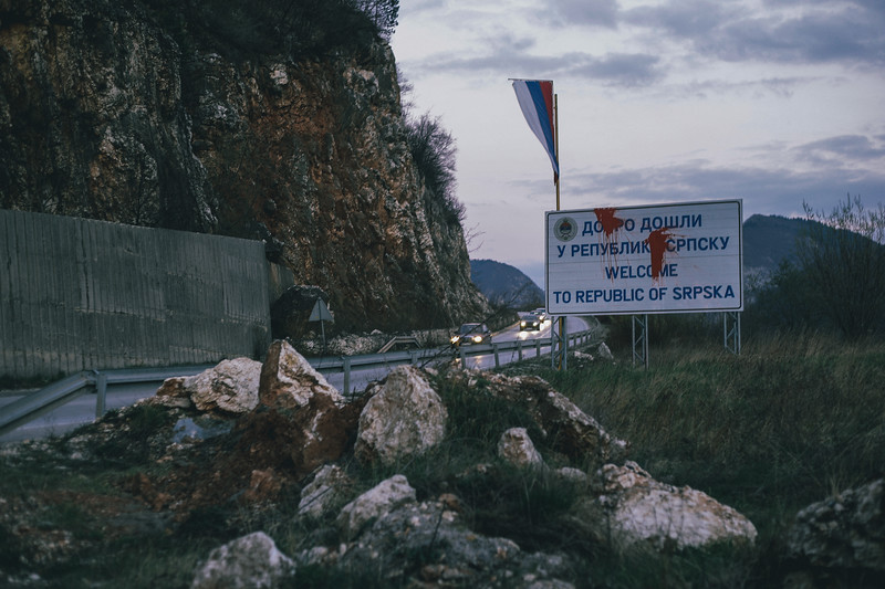 Just outside Sarajevo we have entered Republica Srpska. Few meters later Habibti refused to go any further, we had to go back to the city for repair.
