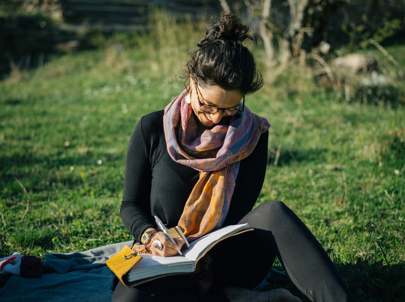 Ismahan (France) - a beautiful soul and a good writer.