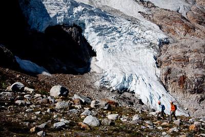 In front of Granite Glacier.