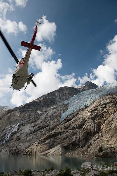 AHK Flying over Iceberg Lake
