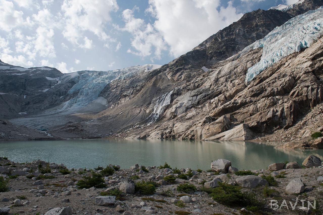 Morning on Iceberg Lake