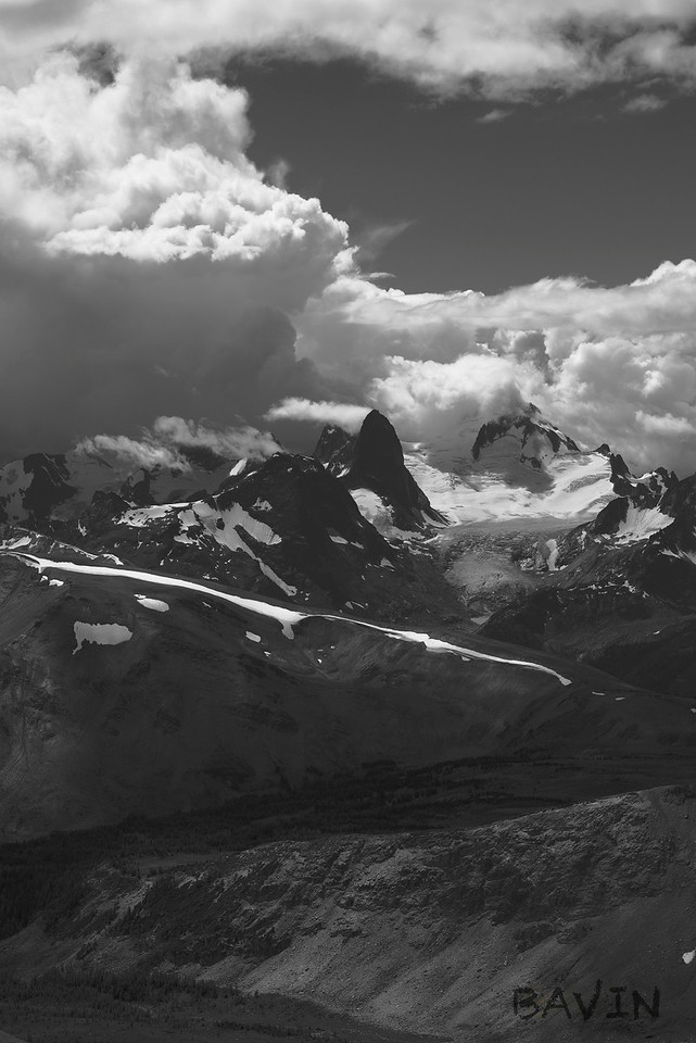 Storm in the Bugaboos