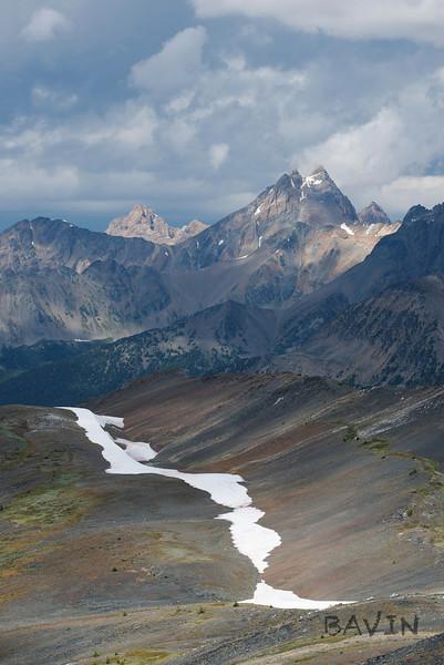 Mount Conrad Kain from Groovy ridge