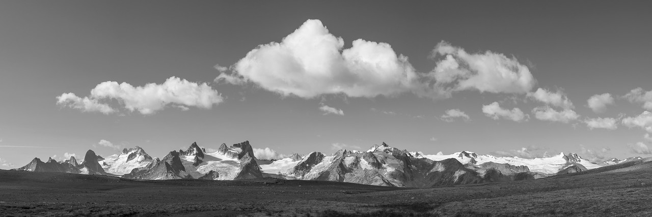 Warren Saddle Panorama
