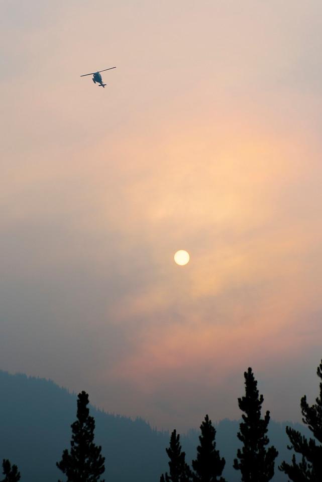 Smokey Summer morning