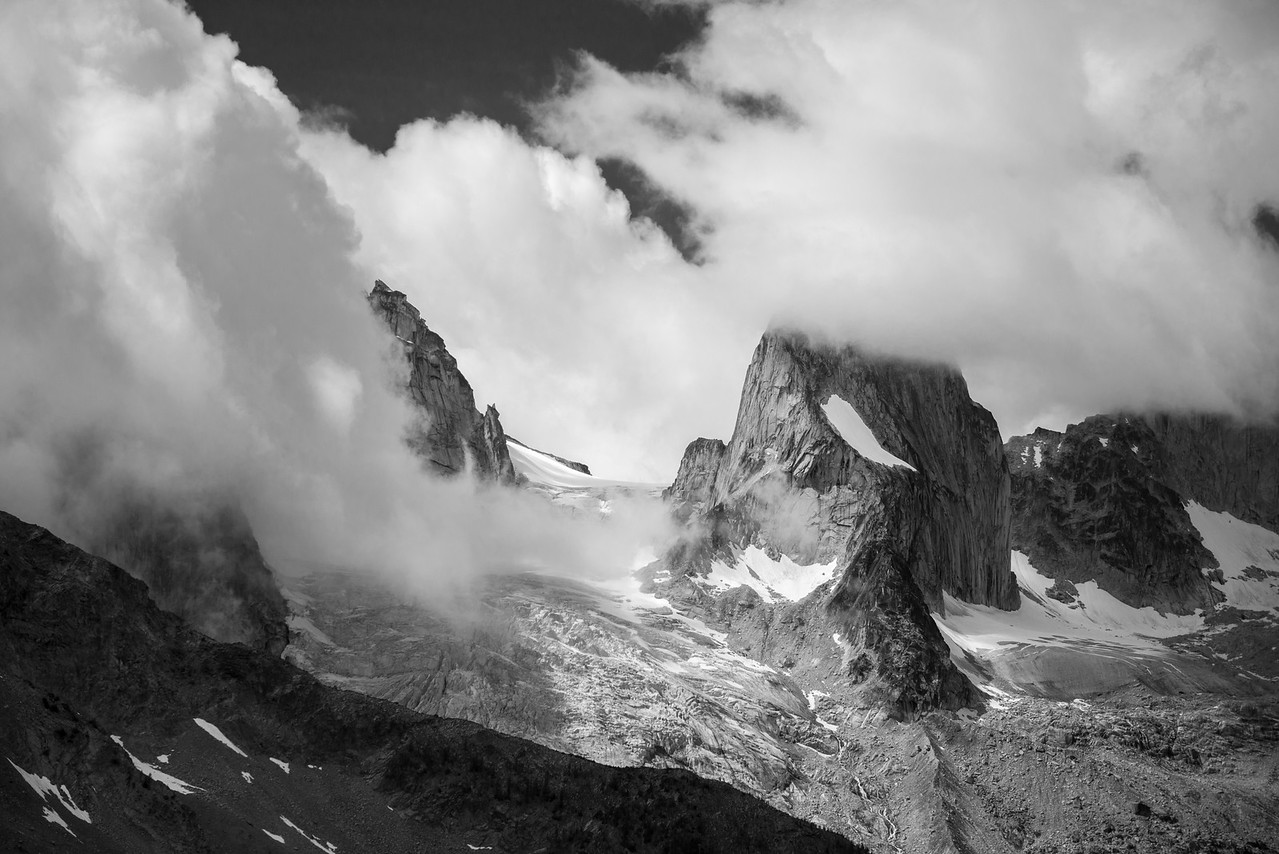 North winds in the Bugaboos