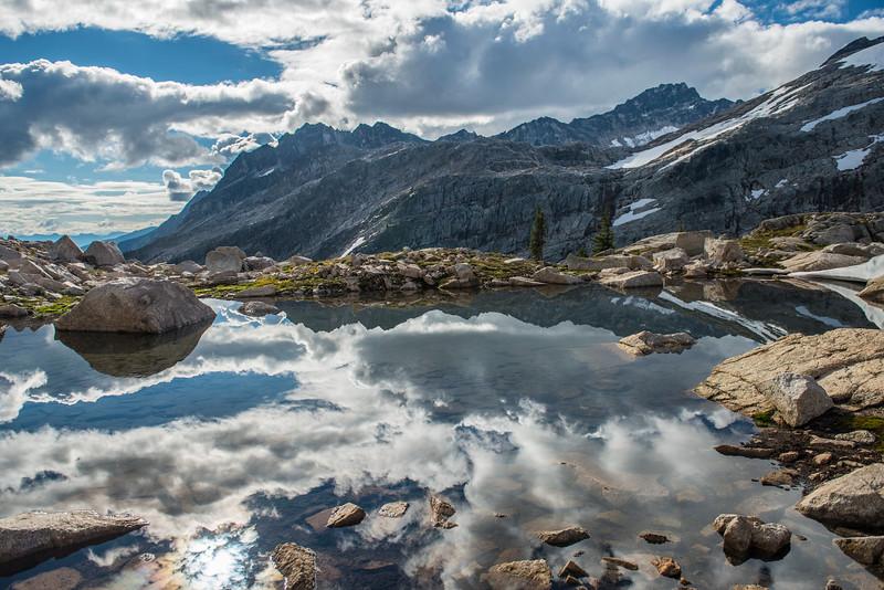Scotch Peaks reflections