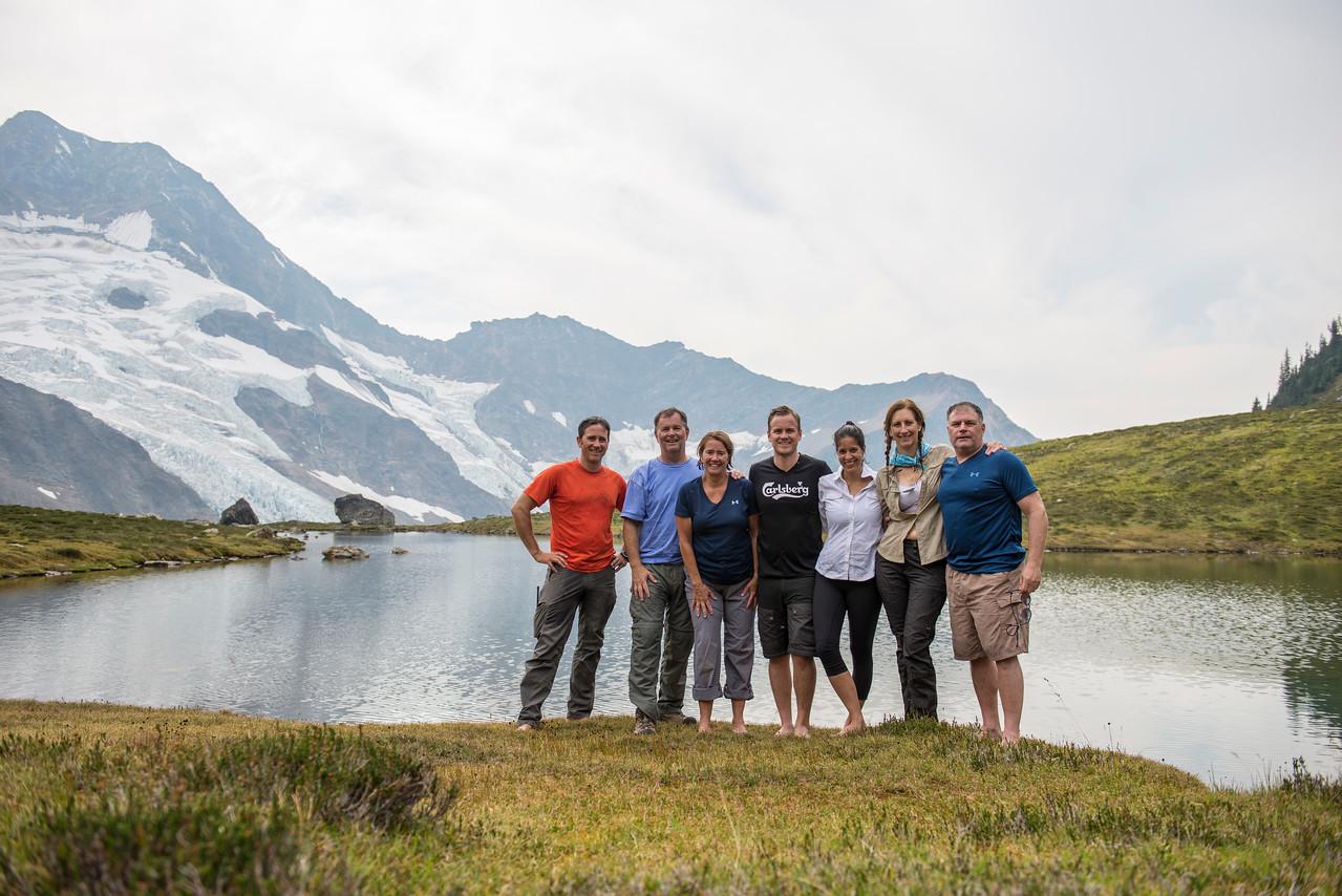 Monashee alpine swim team