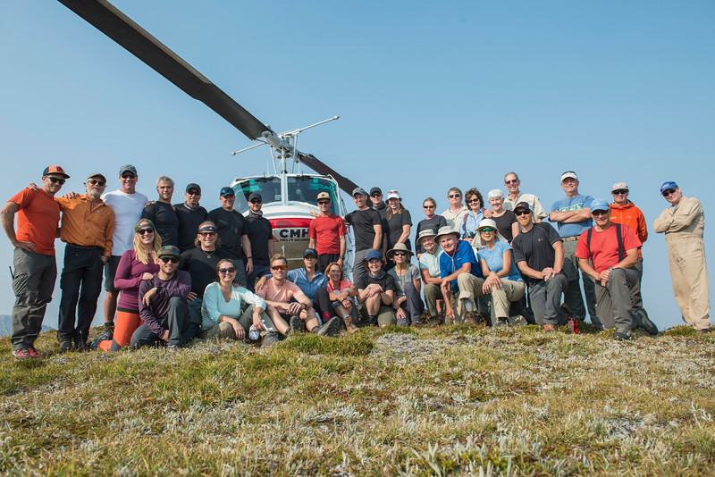 Monashee Heli Hikers, September 4-7, 2017