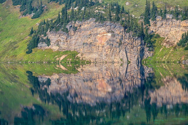 Reflection in Nagle Lake