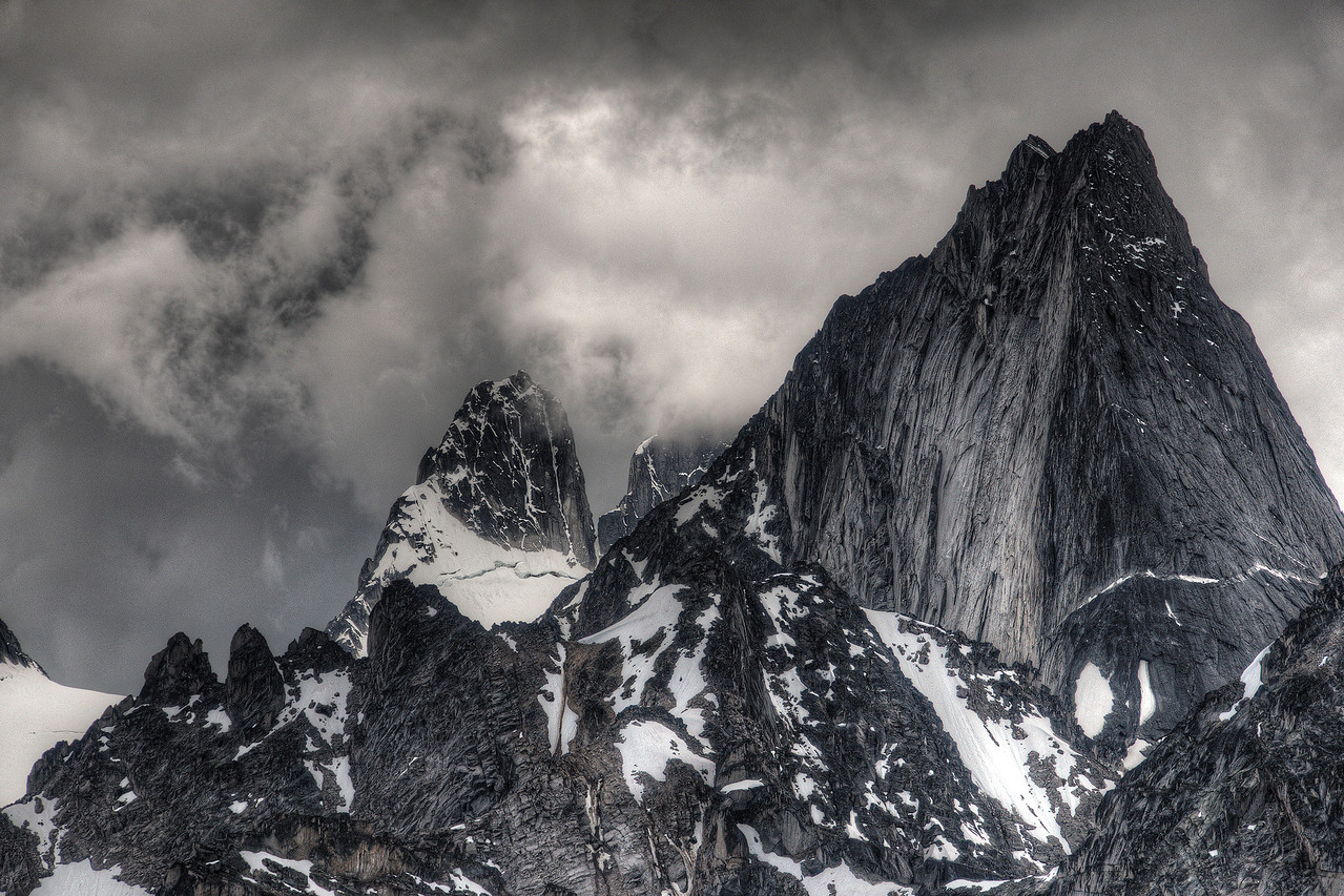 Bugaboo Spire and the Howsers