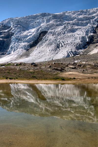Tarn Reflection of Icecapades