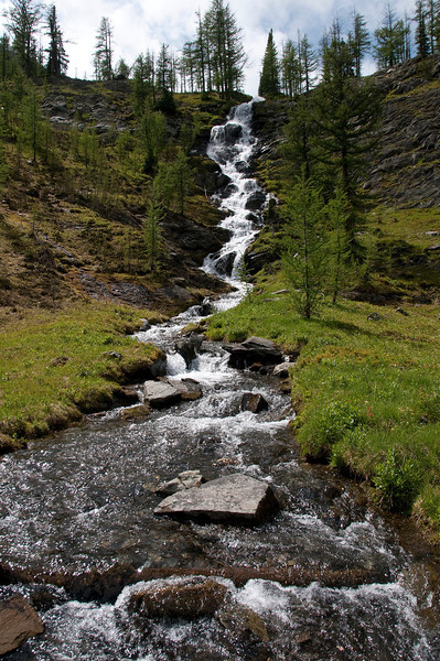 Waterfall at Pocket Lakes