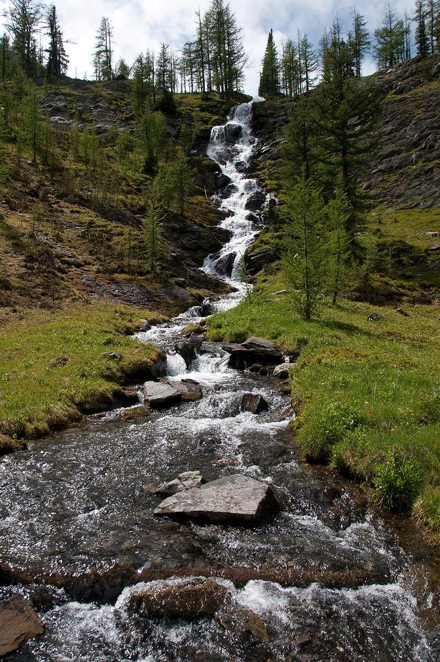Waterfall at Pocket Lakes