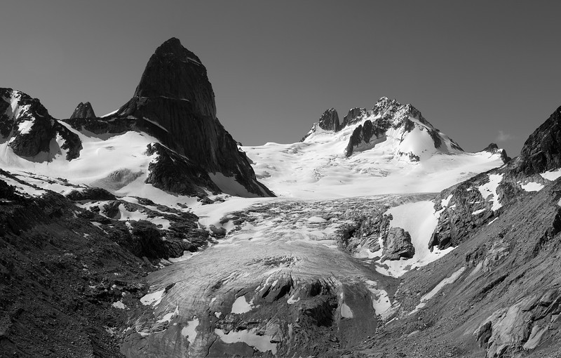The Vowell Glacier from Tamarack Glen