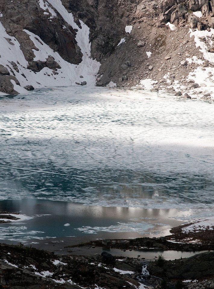 July Ice on Cobalt Lake