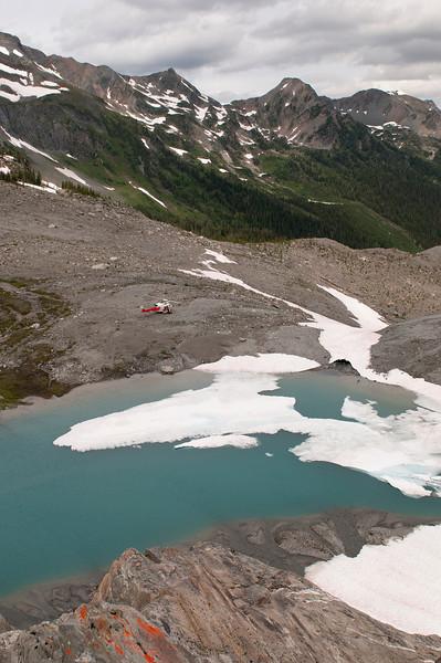 Pick up at Wolf Lake