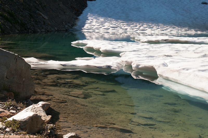 Elizabeth Lake in Frances Creek