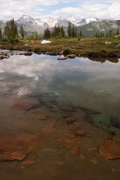 Tarn in Silver Basin and the Septets